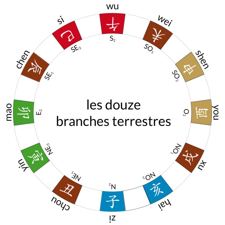 24 montagnes – branches