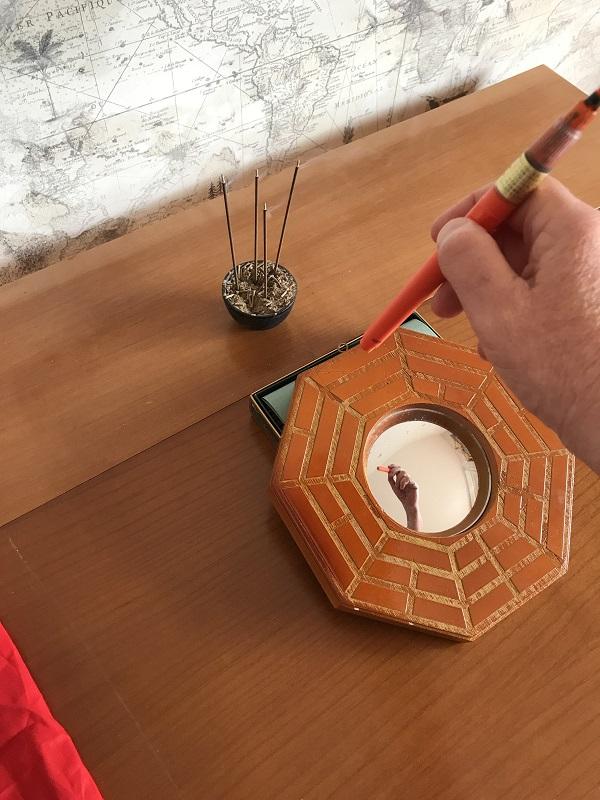 Activation miroir ba gua ouvrir