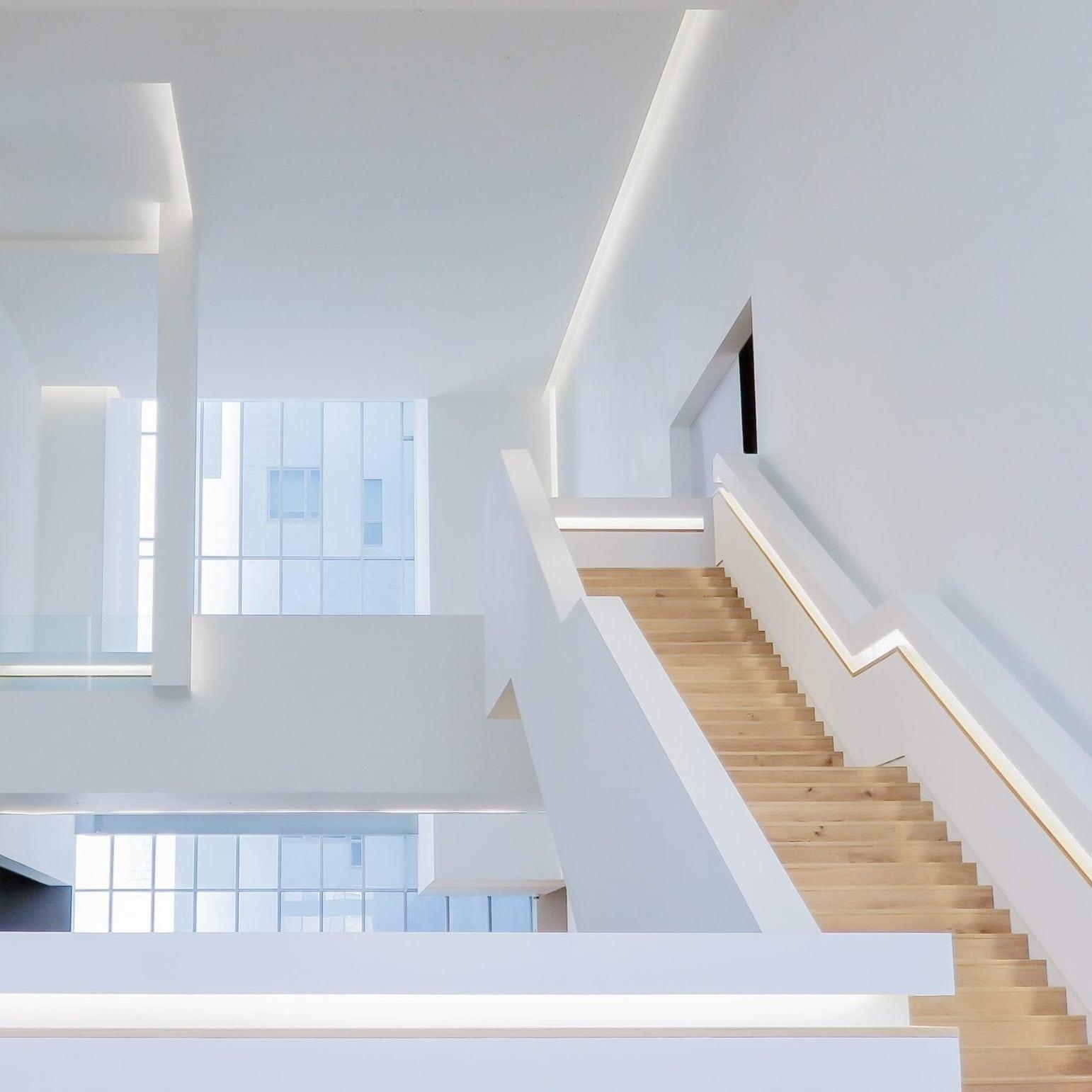 Feng Shui Cuisine Ouverte les escaliers, les contremarches - marip the feng shui firm