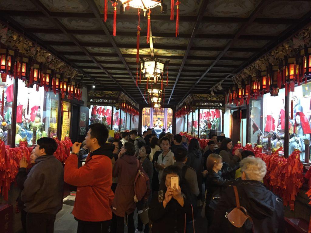 Galerie des Tai Sui – Temple du dieu de la ville Shanghai
