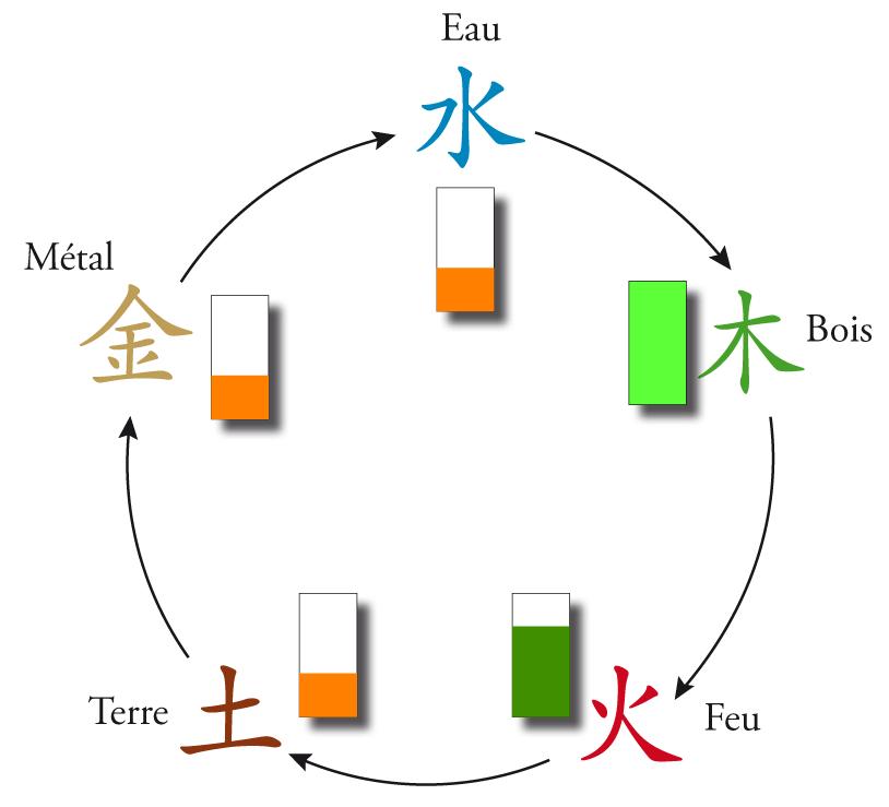 Déséquilibre des 5 éléments