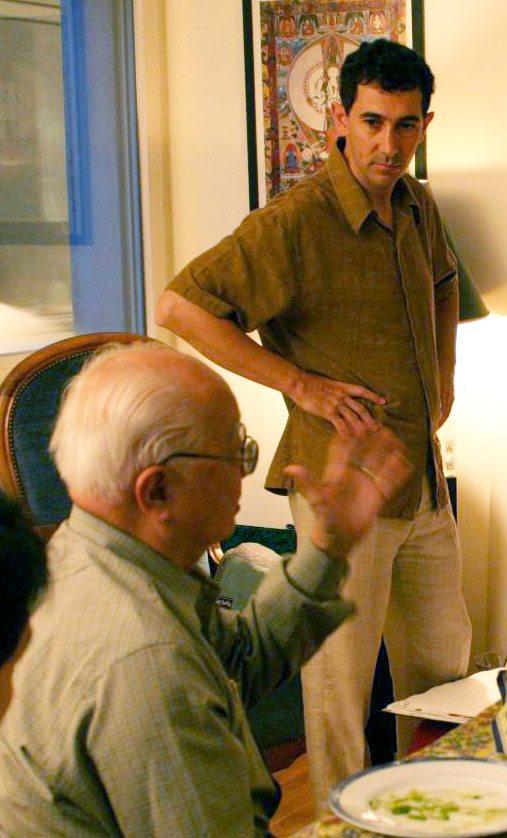 Master Yap Cheng Hai et Eric Spirau