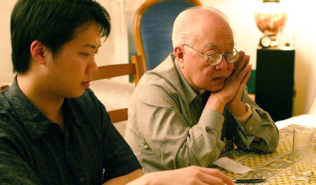 Master Yap Cheng Hai et Joey