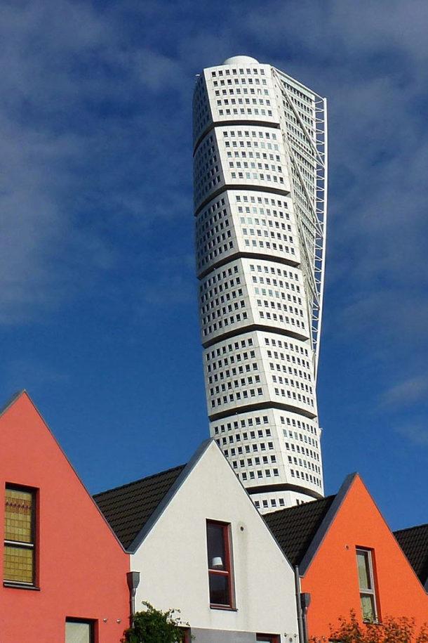 Immeuble en déséquilibre