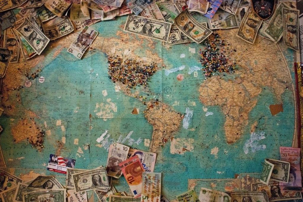 La richesse sur la planète