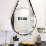 Un miroir au salon, les miroirs en feng shui